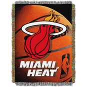 Northwest NBA Miami Heat Photo Real Tapestry Throw