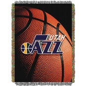 Northwest NBA Utah Jazz Photo Real Tapestry Throw