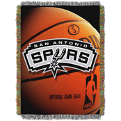 Northwest NBA San Antonio Spurs Photo Real Tapestry Throw