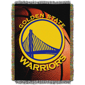 Northwest NBA Golden State Warriors Photo Real Tapestry Throw