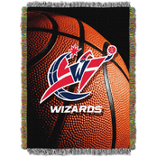 Northwest NBA Washington Wizards Photo Real Tapestry Throw