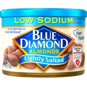 Blue Diamond Almonds Lightly Salted 6 Oz. Can