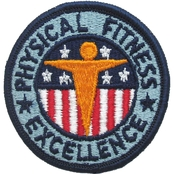 Army Badge Physical Fitness Excellence Sew-On
