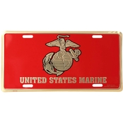 Mitchell Proffitt USMC Eagle Globe & Anchor License Plate