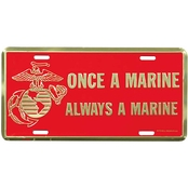 Mitchell Proffitt Once A Marine, Always A Marine License Plate