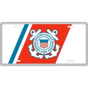 Mitchell Proffitt US Coast Guard Metal License Plate