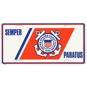 Mitchell Proffitt US Coast Guard Semper Paratus License Plate