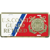 Mitchell Proffitt US Coast Guard Retired License Plate