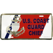 Mitchell Proffitt US Coast Guard Chief License Plate