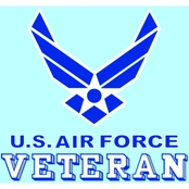 Mitchell Proffitt U.S. Air Force Veteran with Symbol Decal