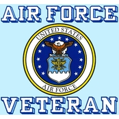 Mitchell Proffitt Air Force Veteran Crest Decal