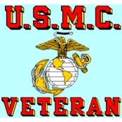 Mitchell Proffitt U.S.M.C. Veteran Decal