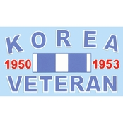Mitchell Proffitt Korea Veteran with Ribbon Decal