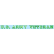 Mitchell Proffitt U.S. Army Veteran Window Strip