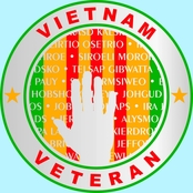Mitchell Proffitt Vietnam Ribbon and Wall Memorial Decal