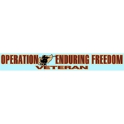 Mitchell Proffitt Operation Enduring Freedom Veteran Window Strip