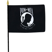 Mitchell Proffitt POW/MIA You Are Not Forgotten Logo 4 x 6 in. Desk Flag