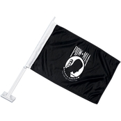 Mitchell Proffitt POW/MIA You Are Not Forgotten Logo Car Flag