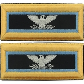 Army COL Inspector General Female Shoulder Straps