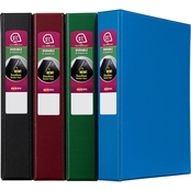 Avery Durable Binder, 1 to Half in. Round Rings, 375 Sheet Capacity