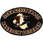 Mitchell Proffitt Operation Iraqi Freedom Veteran Oval Magnet