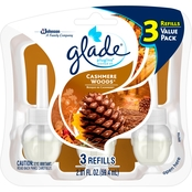 Glade PlugIns Cashmere Woods Scented Oil Air Freshener Refill