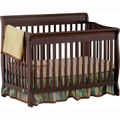 Storkcraft Modena 4 in 1 Fixed Side Convertible Crib