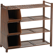 Northbeam Outdoor Shoe Rack and Cubby