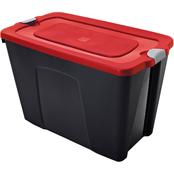 Homz 31 Gallon Latching Tote