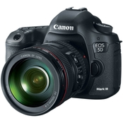 Canon EOS 5D Mark III DSLR Camera with 24-105mm Lens Kit