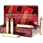 Hornady Superformance .444 Marlin 265 Gr. GMX, 20 Rounds