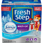 Clorox Fresh Step Multi Cat Febreze Scented Cat Litter 25 lb.