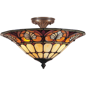 Dale Tiffany Dylan Semi Flushmount Light