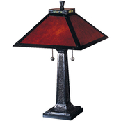 Dale Tiffany Mica Camelot Table Lamp