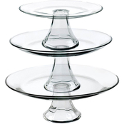 Anchor Hocking Presence 3 pc. Tiered Platter Set