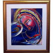 Alpine Art & Mirror Gold Embellished Dreamers by Martiros