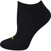 HUE Air Cushion No Show Socks 3 pk.