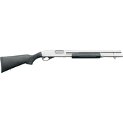 Remington 870 Marine Magnum 12 Ga. 3 in. Chamber 18 in. Barrel 6 Rnd Shotgun Nickel