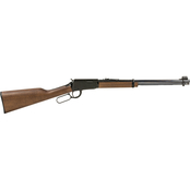 Henry Lever Action 22 LR 18.25 in. Barrel 15 Rds Rifle Blue with Walnut Stock