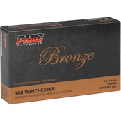 PMC Bronze .308 Win 147 Gr. FMJ, 20 Rounds