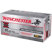 Winchester High Velocity .22 LR 40 Gr. Lead Round Nose, 50 Rounds