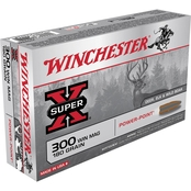 Winchester Super-X .300 Win Mag 180 Gr. Power Point, 20 Rounds