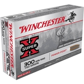 Winchester Super-X .300 Win Mag 150 Gr. Power Point, 20 Rounds