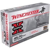 Winchester Super-X .45-70 Government 300 Gr. Jacketed Hollow Point, 20 Rounds