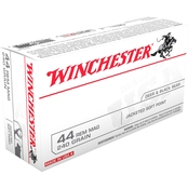 Winchester USA .44 Mag 240 Gr. Jacketed Soft Point, 50 Rounds