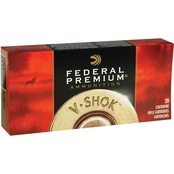 Federal Vital-Shok .270 Win 130 Gr. Sierra GameKing Boat Tail Soft Point, 20 Rounds