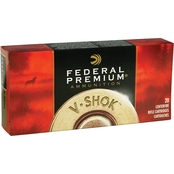 Federal Vital-Shok .375 H&H 300 Gr. Nosler Partition, 20 Rounds