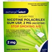 Exchange Select Sugar Free Mint Nicotine Gum 100 Pk.