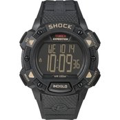 Timex Men's Expedition Shock Resistant Digital Chrono Alarm Timer Watch 49896CB