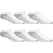 Fruit of the Loom No Show Socks 6 Pk.